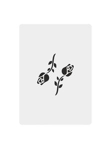 Black Roses Playing Cards V1 - Joker