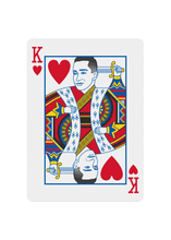 Load image into Gallery viewer, Red Roses Playing Cards - King of Hearts
