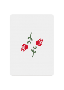 Red Roses Playing Cards - Joker