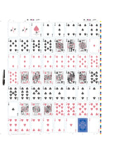 Load image into Gallery viewer, Black Roses Altrosa Playing Cards Uncut Sheet Front