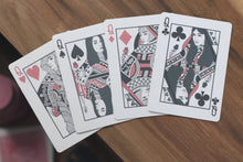 Load image into Gallery viewer, Black Roses Altrosa Playing Cards Queens
