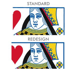 Redrawn Standard Face Card Templates PDF DOWNLOAD - Black Roses Playing Cards