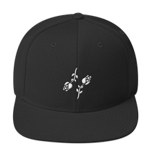 Load image into Gallery viewer, Black Roses Snapback - Black Roses Playing Cards