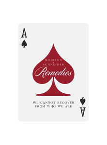 Remedies - Black Roses Playing Cards