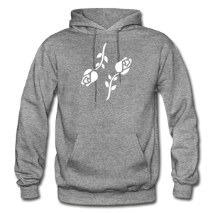 Black Roses Hoodie - graphite heather