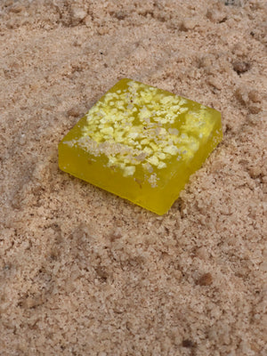 Salt soap with Chamomile Essence
