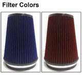 Heat Shield Air Intake Filter Kit works with Chevy Silverado 1500 2007-2008 with 4.8L 5.3L 6.0L V8 Engine