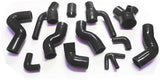 Silicone Intercooler Hoses Kit for 1997-2001 Audi S4 RS4 with 2.7L Bi-Turbo Engine - 12 Pieces