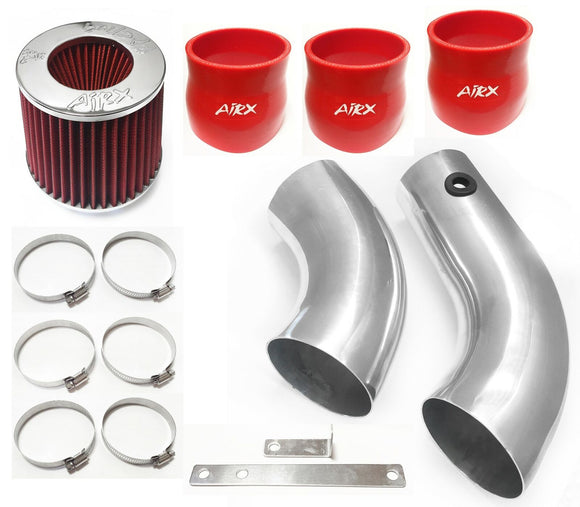 AirX Racing Intake Kit System for 1996-2004 GMC Sonoma with 4.3L V6 Engine
