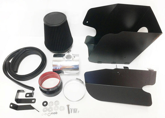 Heat Shield Air Intake Filter Kit works with Ford Super Duty F-250 F-350 2008-2010 with 6.4L V8 Engine