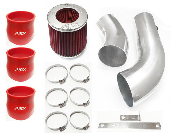 AirX Racing Intake Kit System for 1996-1999 Chevy K1500 Suburban with 5.0L 5.7L V8 Engine