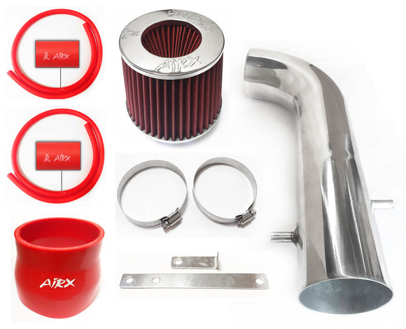 AirX Racing Intake Kit System for 1995-1997 Honda Accord with 2.7L V6 Engine