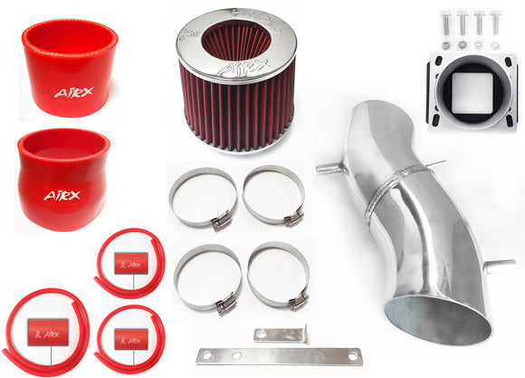 AirX Racing Intake Kit System for 1993-1997 Nissan Altima with 2.4L L4 Engine