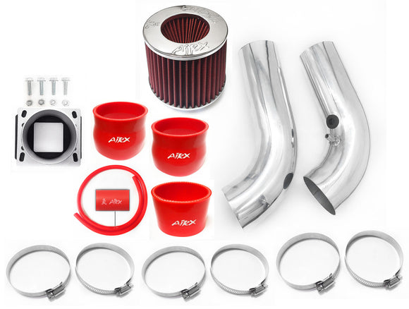 AirX Racing Intake Kit System for 1998-2001 Ford Ranger with 2.5L 4Cyl Engine