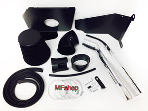 Heat Shield Air Intake Filter Kit works with Chevy Silverado 1500 2009-2013 with 4.8L 5.3L 6.0L  6.2L V8 Engine