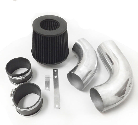 Air Intake Filter Kit System for Chevy S10 Pickup 1996-2004 with 4.3L V6 Engine (2pc Design)