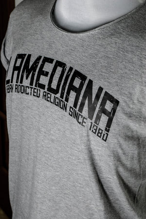 Lamediana Urban Addicted Religion Shirt Grey