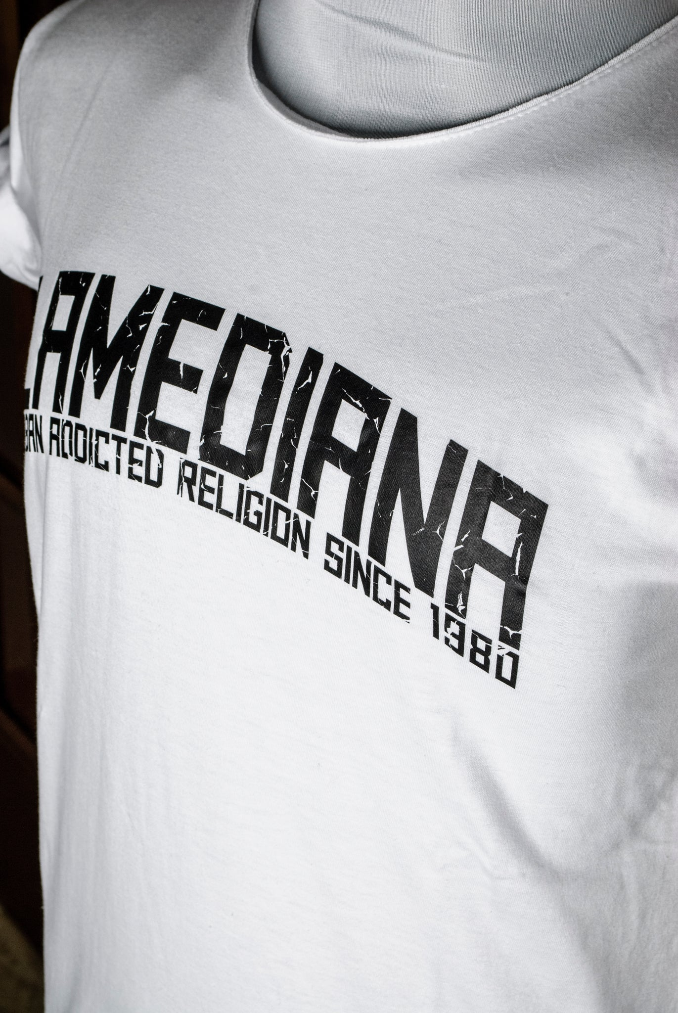 Lamediana Urban Addicted Religion Shirt White