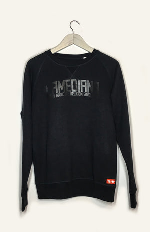 Lamediana Brand Sweatshirt Black