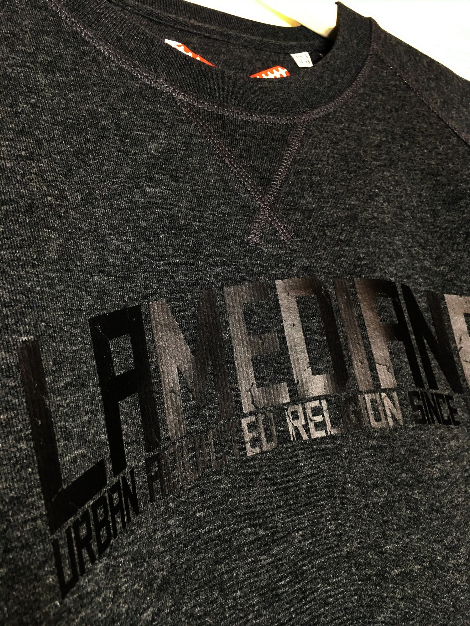 Lamediana Brand Sweatshirt Dark Grey