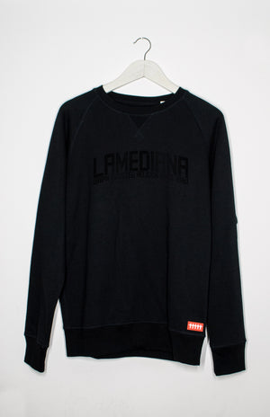 Lamediana Lux Corporate Sweatshirt Black