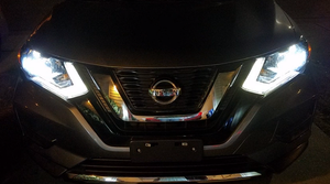 KIT LED NISSAN ROGUE 2014-2015-2016-2017-2018-2019