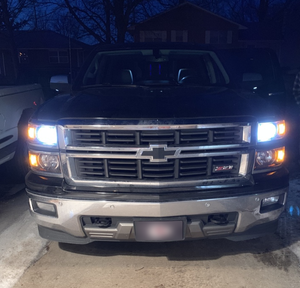 Kit LED CHEVROLET SILVERADO 1500/2500 2008-2009-2010-2011-2012-2013-2014-2015-2016