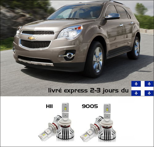 Kit LED CHEVROLET EQUINOX 2010-2011-2012-2013-2014-2015-2016-2017