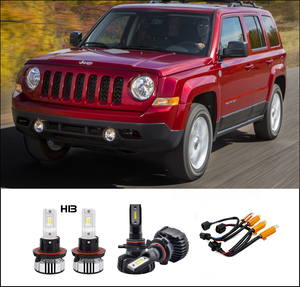 Kit LED JEEP PATRIOT 2007-2009 ET 2010-2011-2012-2013-2014-2015-2016-2017