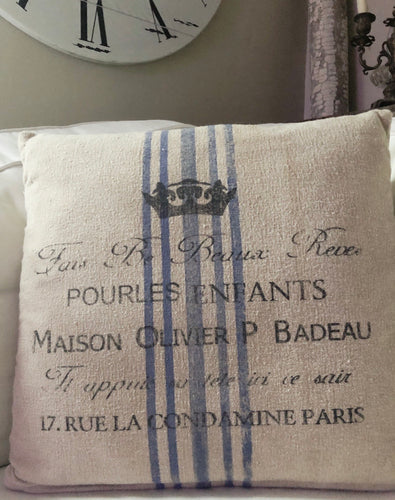 Pillow French Inspired