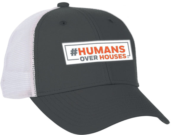 #HumansOverHouses Rubber Patch Hat