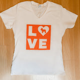 LOVE Luke Ladies V-neck