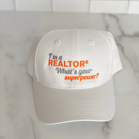 I'm a REALTOR® -Superpower Hat