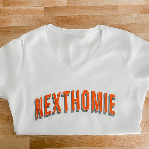NextHomie Block V-neck