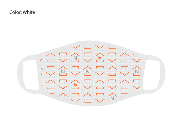 NextHome White Face Mask