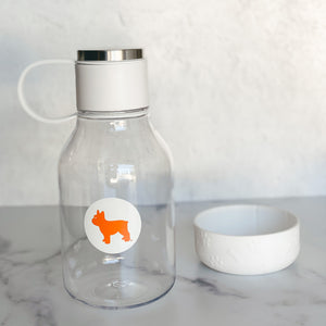 Vacuum Insulated Bottle with Dog Bowl