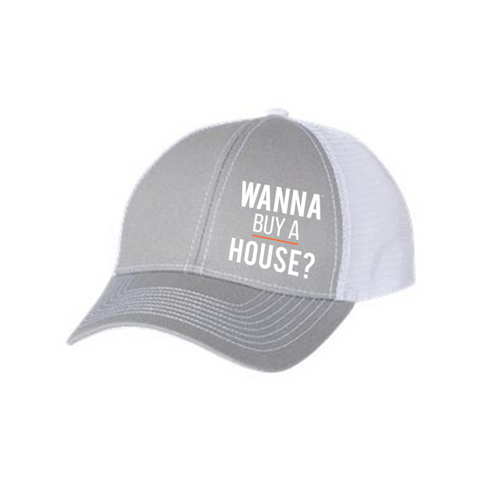 Trucker Hat - Wanna Buy a House?™ + Luke