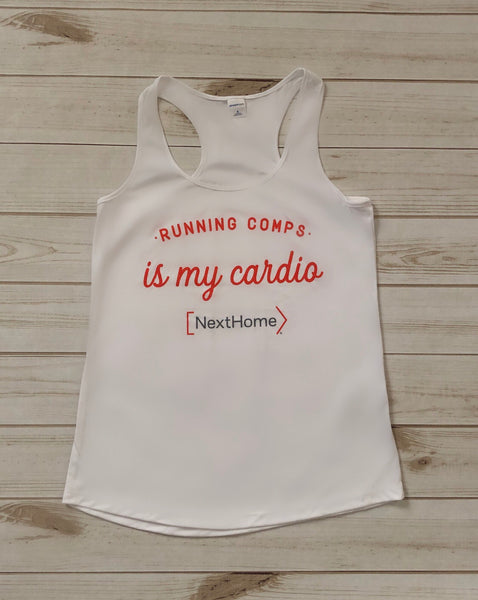 Running Comps Racerback Ladies Tank