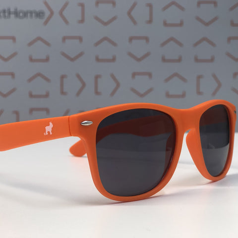 Sun Glasses- Orange with Luke