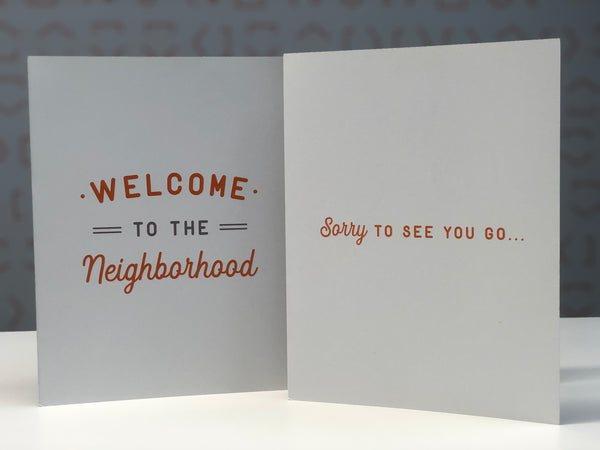 Large Neighborhood Cards