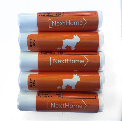 Lip Balm with NextHome & Luke Logo