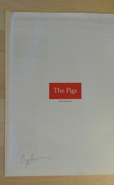 The Pigs | Carlos Spottorno | Editorial RM  (SIGNED)