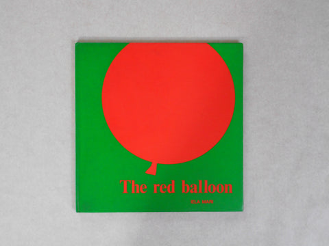 The Red Balloon | Iela Mari | A&C Black Publishers 1975