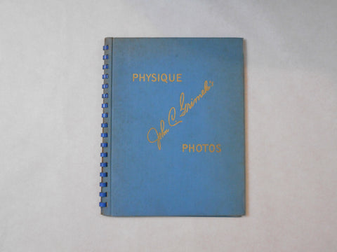 John C. Grimek's Physique Photos: Masculine perfection - John C. Grimek - Self published 1947