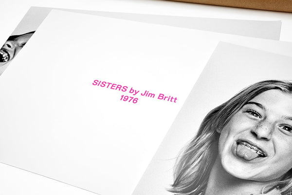SISTERS poster set | Jim Britt | Sisters with braces 2018