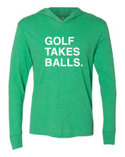 Load image into Gallery viewer, GOLF TAKES BALLS. Unisex Hoody