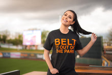 Load image into Gallery viewer, BELT IT OUT OF THE PARK. Unisex T-shirt