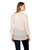 3-4 sleeves off white v neck tops online india