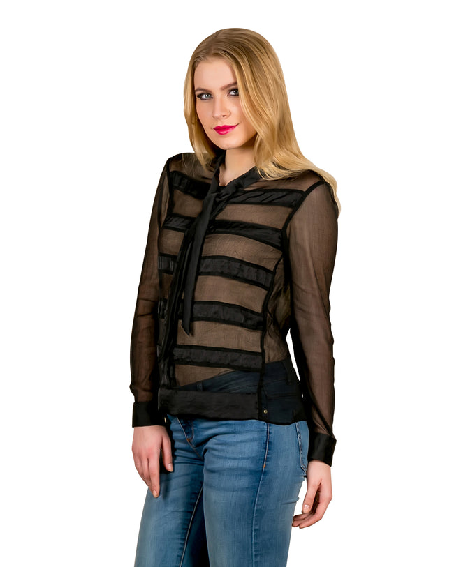 Black Full Sleeves Shirts for women online india