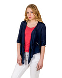 Indigo Blue Waterfall Shrugs online for women